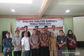 KPU Bengkayang melakukan evaluasi fasilitasi kampanye Pemilu 2019