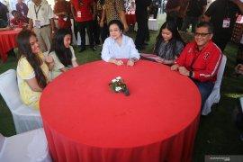 Prabowo hadir di Kongres V PDI Perjuangan sebagai undangan khusus