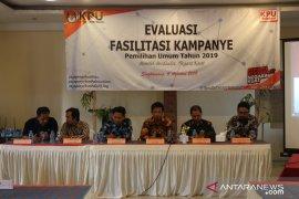 KPU Kota Singkawang evaluasi fasilitas kampanye Pemilu