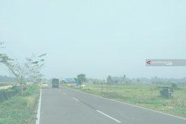 Kota Barabai mulai diselimuti kabut asap