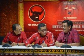 Struktur pengurus DPP PDI Perjuangan tetap 27 personel