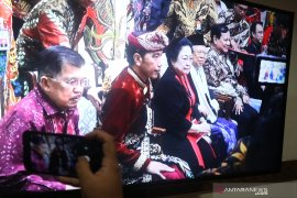 Kehadiran Prabowo disambut tepuk tangan meriah peserta Kongres PDIP