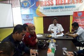 BNNK Tabalong bentuk relawan antinarkoba