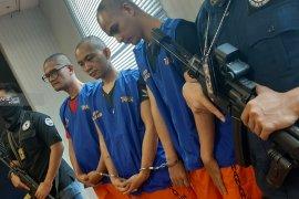 Tiga kurir narkoba jaringan lapas ditangkap