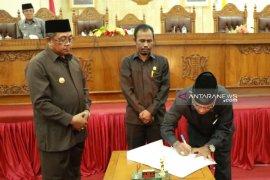 Aceh Barat sahkan APBK Perubahan tahun 2019 senilai Rp1,51  triliun