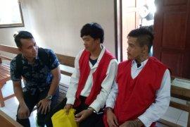 Dua warga Thailand diadili karena penyelundupan sabu