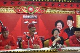 Megawati dikukuhkan jadi Ketua Umum PDIP 2019-2024
