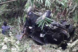 Mobil masuk jurang di Harangan Ganjang Simalungun, lima penumpang luka