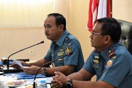 Tim Itjen TNI AL lakukan Wasrik di Lantamal IX/Ambon