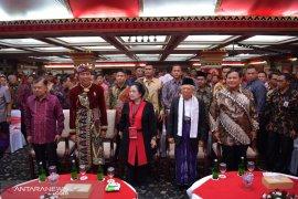 Wapres JK hadiri Kongres V PDI Perjuangan di Bali