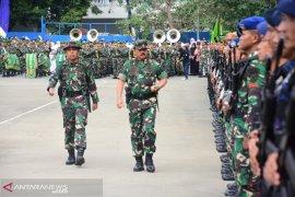 Panglima TNI Marsekal Hadi Tjahjanto puji Puslatpur Amborawang