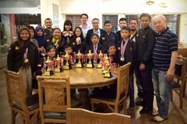 Tim catur lndonesia bawa pulang tujuh emas dari kejuaraan di Bangkok