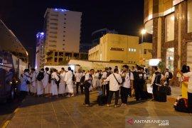 Jamaah Indonesia mulai bergerak ke Arafah untuk wukuf
