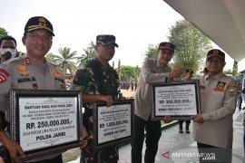 Satgas Karhutla Jambi dapat bantuan Rp1,55 miliar dari pemprov