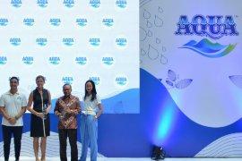 Danone-AQUA kenalkan Botol 100% Daur Ulang di Jakarta
