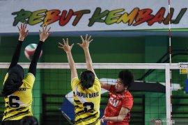 Tim bola voli putri DKI bertemu Jawa Tengah di final