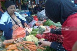 Sejumlah sayur terdeteksi pestisida di Ambon masih di bawah ambang batas