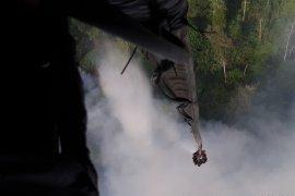 Akibat asap jarak pandang di Pelalawan Riau turun jadi 1,5 km