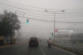 Pihak sekolah liburkan siswa dampak semakin tebalnya kabut asap