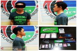 Pemilik belasan pil ekstasi resmi jadi tersangka