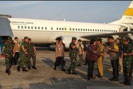 Panglima TNI janjikan kirim Hercules pengebom air atasi Karhutla Riau