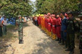 Perusahaan di Muarojambi dikerahkan gabung Satgas Karhutla padamkan kebakaran