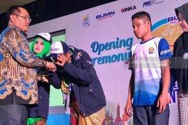 Pemprov Jatim lepas dan terima peserta SMN 2019 (Video)