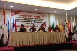 KPU Ambon tetapkan 35 anggota DPRD terpilih
