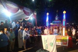 Semarak Idul Adha dengan becak hias di Langkat