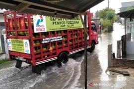 Hujan deras, Lhokseumawe tergenang air