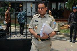 Anies bahas penerapan mobil listrik dengan Presiden Jokowi