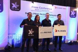 Pelanggan Medan dan Batam gratis XL PRIO Pass selama di Malaysia dan Singapura