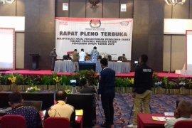 KPU Malut segera pleno tetapkan anggota DPRD terpilih