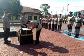 Rotasi jabatan perwira Polres Rejang Lebong untuk penyegaran
