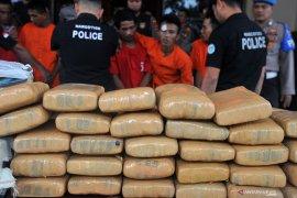 Polisi amankan 38,66 kg sabu-sabu