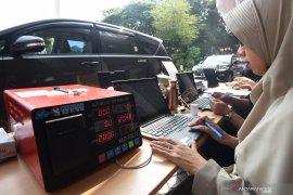 DLH Gorontalo uji emisi kendaraan roda empat