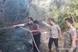 Polsek Toboali berhasil padamkan api di lahan gambut