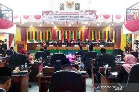 20 anggota DPRK Aceh Jaya terpilih dilantik, 2 orang dewan lama absen