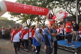 Gubernur Banten nilai jalan sehat HUT RI momen tingkatkan persatuan dan kesatuan