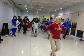 23 peserta SMN asal Babel dibekali kemampuan menari