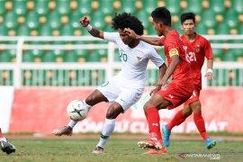 Main imbang 1-1 dengan Myanmar, Indonesia juara grup