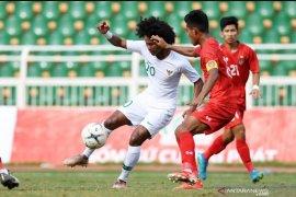 Bermain seri 1-1 dengan Myanmar, Indonesia juara grup A