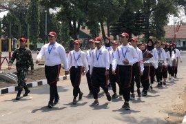 Peserta SMN Gorontalo dibekali niai-nilai kebangsaan di Kodam Brawijaya