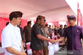Badung gelar upacara HUT ke-61 Provinsi Bali