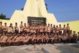 Pramuka Kota Bogor ziarah ke Makam Pahlawan