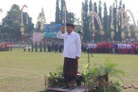 Bupati Bangli pimpin apel HUT ke-61 Propinsi Bali