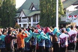 Pemkab gelar upacara peringatan Hari Jadi ke-69 Kalsel