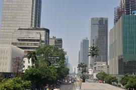 Kualitas udara Jakarta sudah tidak sehat pada Kamis