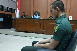 Sidang kelima, kesaksian oknum TNI terdakwa pembunuhan dan mutilasi di Sumsel