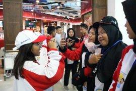 Rombongan SMN Jambi dan NTT bertemu di Bandara Soekarno Hatta